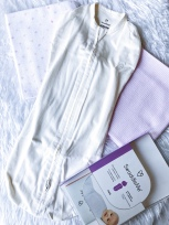 Receiving Blanket & Swaddle (Available at Baby Company & Department Stores)